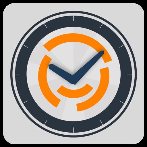 Market 24h Clock app launcher
